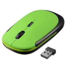 YBC Mini Wireless Optical Mouse For Laptop Notebook Computer Green