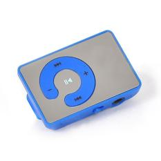 YBC New Mini Mirror Clip USB Digital Mp3 Music Player Support TF Card - Intl
