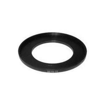 YJJZB Black Aluminium Alloy 52mm To 77mm Step Up Ring Filter Adapter For SLR Cameras