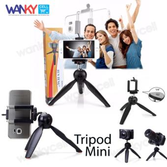 YunTeng Phone Holder YT-228 Mini Tripod With Holder U - Hitam
