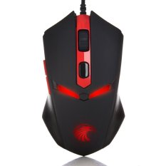 Z-760.2000 DPI LED Optical USB Wired 6 Buttons Gaming Mouse (Black) (Intl)