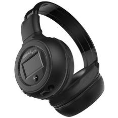 Zealot B570 Wireless Headset Bluetooth Headphone With FM TF LED Indicator - Black (Black)