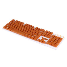 ZUNCLE JW-197.2.4G Wireless 105 Key Fashion Suspended Mechanical Touch Keyboard Set (Brown) (Intl)