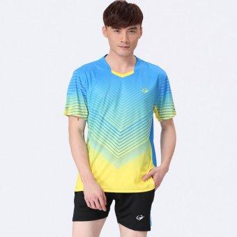 2015 New Badminton Clothing Outdoor Sports Badminton shirt and Shorts ...