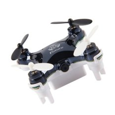 2016 2.4G RC Helicopter Quadcopter 0.3M Camera (Black)