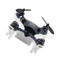 2016 Best Promotional Gifts L7C 2.4G RC Helicopter Quadcopter 0.3MCamera 3D Rolling Gravity (Black)