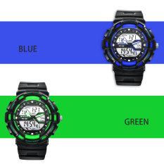 2016 High Quality New Arrival SANDA 726 Sports Waterproof Outdoor Women's Electronic Watch (Green)