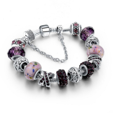 2016 Jewellery European Charm Bracelets For Women 925 Silver Chain Bracelets & Bangles DIY Jewelry Pulseras