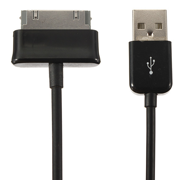 2M USB Sync Data Charger Cable for Samsung Galaxy Tab 2 3 Note 10.1 8.9 7.0 (Black) (Intl)
