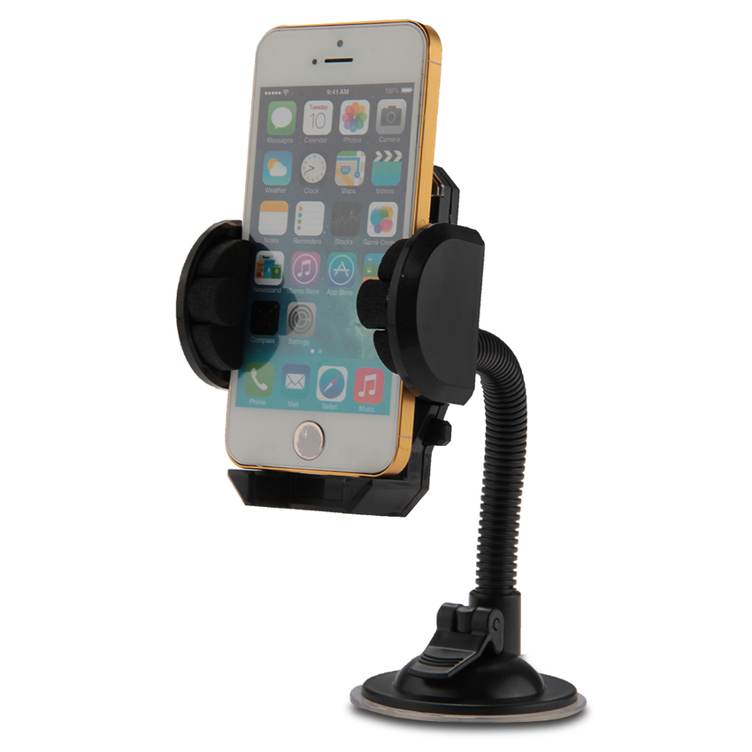 2pcs Universal 360ᄚCar Mount Cradle Stand Holder Suction Cup for Cell Phone GPS Black (Intl)