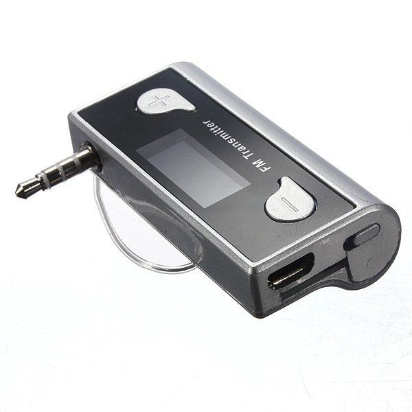 3.5mm Auto Wireless Handsfree TF FM Transmitter + Ladeger?t für iPhone 5S iPod