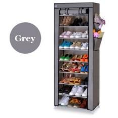 10 Layer 9 Grid Shoe Rack Storage Rak Sepatu 10th