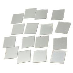 100 buah 3 D Wall stiker mosaik cermin rumah diseduh sendiri lukisan dinding hiasan akrilik 2 cm x 2 cm
