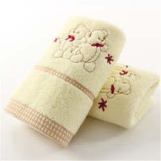 100% Cotton Thickened 74*34cm Face Towel Hand Towel Soft and Water Absorption (Intl)