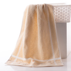 100% Cotton Thickened 78*34cm Face Towel Hand Towel Soft and Water Absorption (Intl)