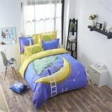 100%polyester Kids 3pcs / 4pcs Cartoon Bedding Sets (Intl)
