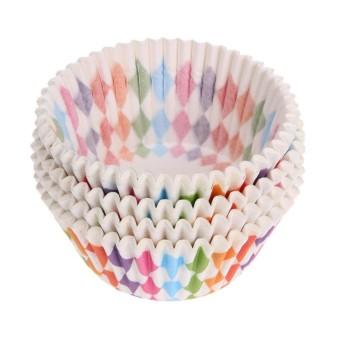 100 Pcs Cupcake Liner Baking Cangkir Cupcake Cetakan Kue Dekorasi-Intl