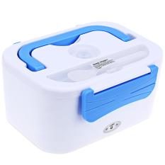12V Car Multi-functional Double-deck Insulated Electronic Lunch Box Heat Preservation Apart Type - Intl