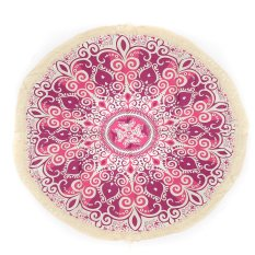 150cm Round Indian Summer Beach Tapestry Towel Tassels Blanket Yoga Mat Shawl - Intl