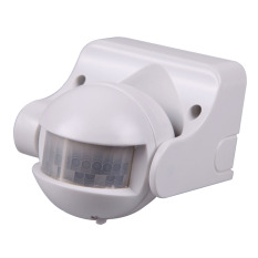 180 White Occupancy Sensor PIR Motion Light Switch Wall Mounted 1200w (Intl)