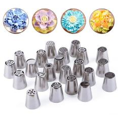 1PC Kitchen Accessories Stainless Steel Nozzles Russian Tulip Icing Piping Pastry Decorating Tips Cake Decorator