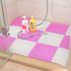1piece 30 * 30 Cm Bathroom Mat Shower Mats Anti Slip Mat Non-slip Pad (White) - Intl