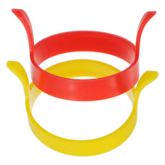 2Pcs Kitchen Silicone Fried Fry Frier Oven Poacher Pancake Egg Poach Ring Mould - Intl