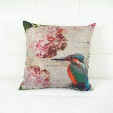2pcs Personalized Hummingbird Throw Pillow Case Pillow Case Sofa Home Decor Cushion Cover (No Filling)