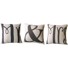3 PCS Cotton Linen Square Throw Pillow Case Home Car Office Decorative Cushion Cover Pillowcase Without Pillow Inner