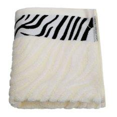 35.5*74cm Bambo Fiber Towel Face Cloth Hand Bath Towel Beige - Intl