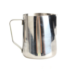 350ml Stainless Steel Kitchen Home Handle Coffee Garland Cup Latte Jug