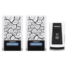 36 Chimes Songs Waterproof Wireless Doorbell Remote Control 2 Receiver Door Bell (Intl)