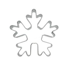 360DSC Christmas Snowflake Shaped Stainless Steel Biscuit Pastry Cookie Cutter Mould Cake Fruits Mold DIY Kitchen Tool