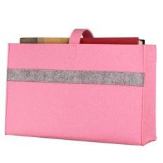 360DSC Felt Clip On Hangers Bedside Storage Caddy Portable Household Bed Suspended Storage Bag Organizer -