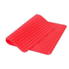 360DSC PYRAMID PAN Multifunction Healthy Cooking Non-Stick Silicone BBQ Grill Mat Baking Tools -