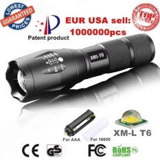 3800LM Aluminum Waterproof Zoomable CREE LED Flashlight Torch light for 18650 Rechargeable or AAA Battery