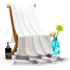 3pcs / Set Cotton Bath Towel (White)