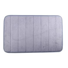 40 X 60cm Coral Velvet Bathroom Mat Non-slip Memory Foam Rug Soft Floor Carpet (Silver Gray)