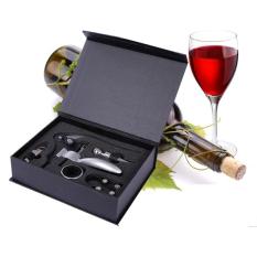 5-in-1 Rabbit Style Corkscrew Wine Bottle Opener & Wine Stopper & Foil Cutter & Wine Pourer & Wine Ring Set