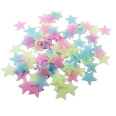 500 Pcs Glow Color Stars Luminous Fluorescent Wall Stickers for Kids color:Colours - intl