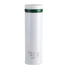 500ml Thermos CupThermo Mug Vacuum Cup 304 Stainless Steel Thermocup Thermal Bottle Thermos Vacuum Flask Cups (White)