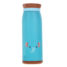500ml Thermos Mug Insulated Tumbler Travel Cups Stainless Steel Elephant (Intl)