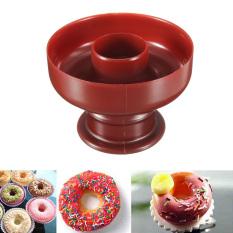 5Pcs Donut Doughnut Maker Cutter Mold Fondant Cake Bread Desserts Bakery Mould Tool - Intl