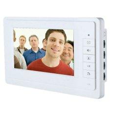 7 Inch Video Door Phone Doorbell Intercom Kit 1camera 2monitor Night Vision (Intl)
