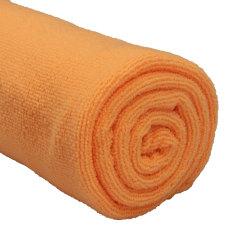 Absorbent Microfiber Towel Bath Quick Drying Washcloth Bath Orange (Intl)