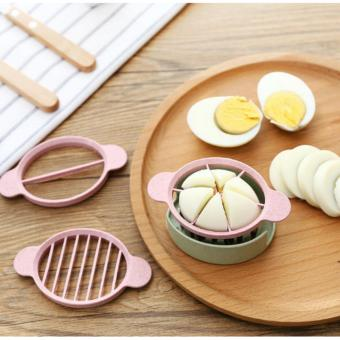 Alat Pemotong Telur 3in1 Egg Slicer Cutter Pengiris Telor