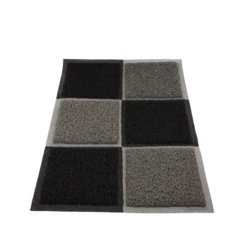 Alldaysmart Keset Rumah / Alas kaki / Karpet Lantai / Motif SKAK CATUR Ukuran 60X40