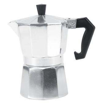 Aluminum Italian Type Espresso Moka Coffee Maker Stove Home Office Coffee Blender (150ML 3 Cups