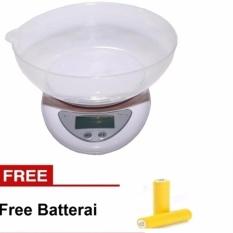 JBS Timbangan Digital Mangkok - Free Batterai