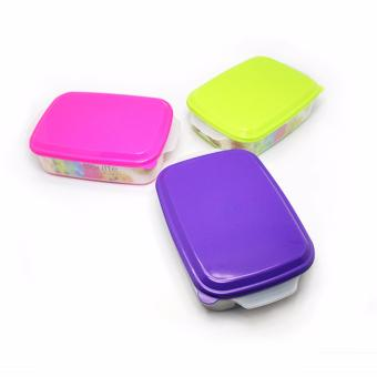 Arniss - Seal Ware Square New Casa RS-0524 (Set Of 3 Multicolor)